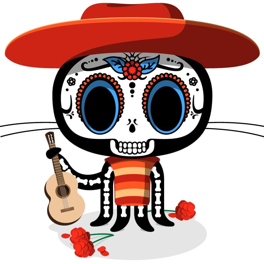 the Octocat De Los Muertos